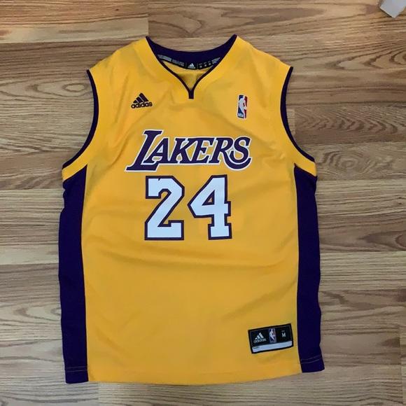 adidas Shirts & Tops   Kobe Bryant 24 Adidas Lakers Jersey   Poshmark